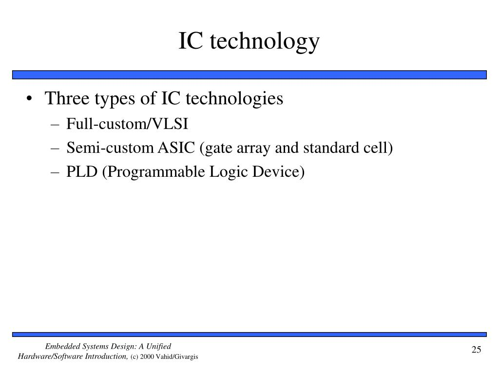 IC technology