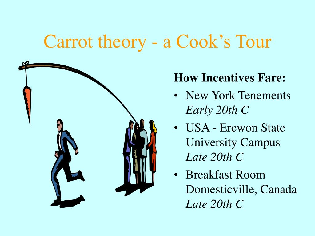 Carrot theory - a Cook's Tour