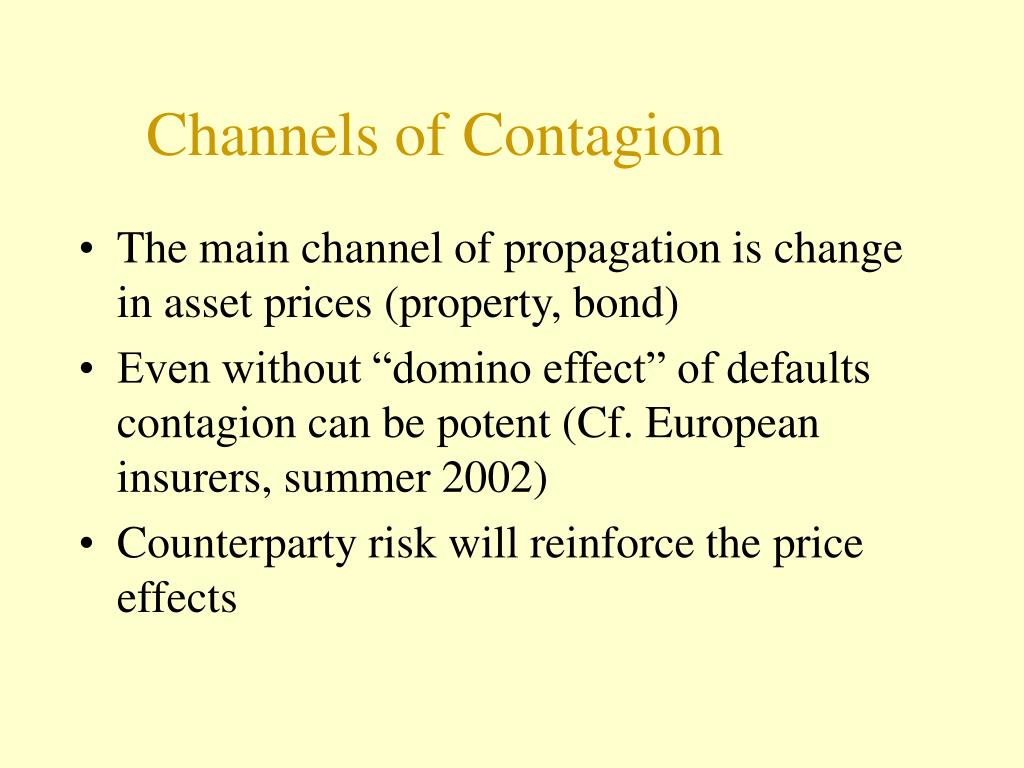 Channels of Contagion