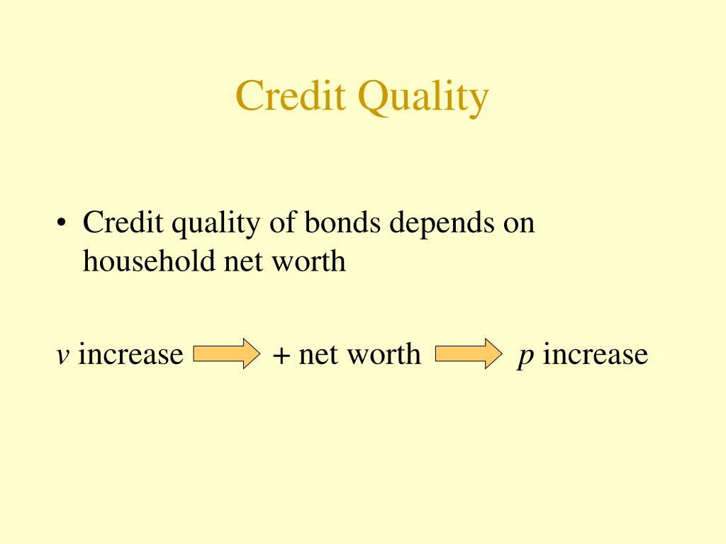 Credit Quality