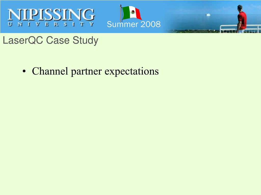 LaserQC Case Study