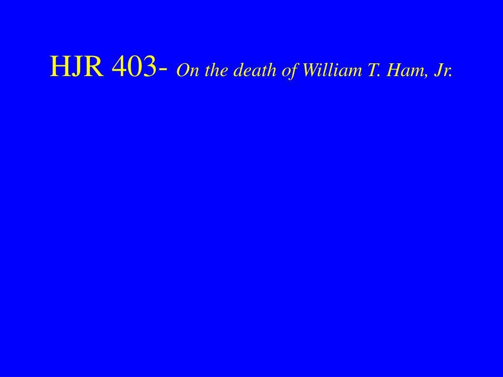 HJR 403-