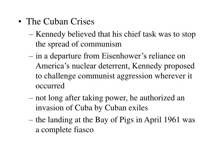 The Cuban Crises