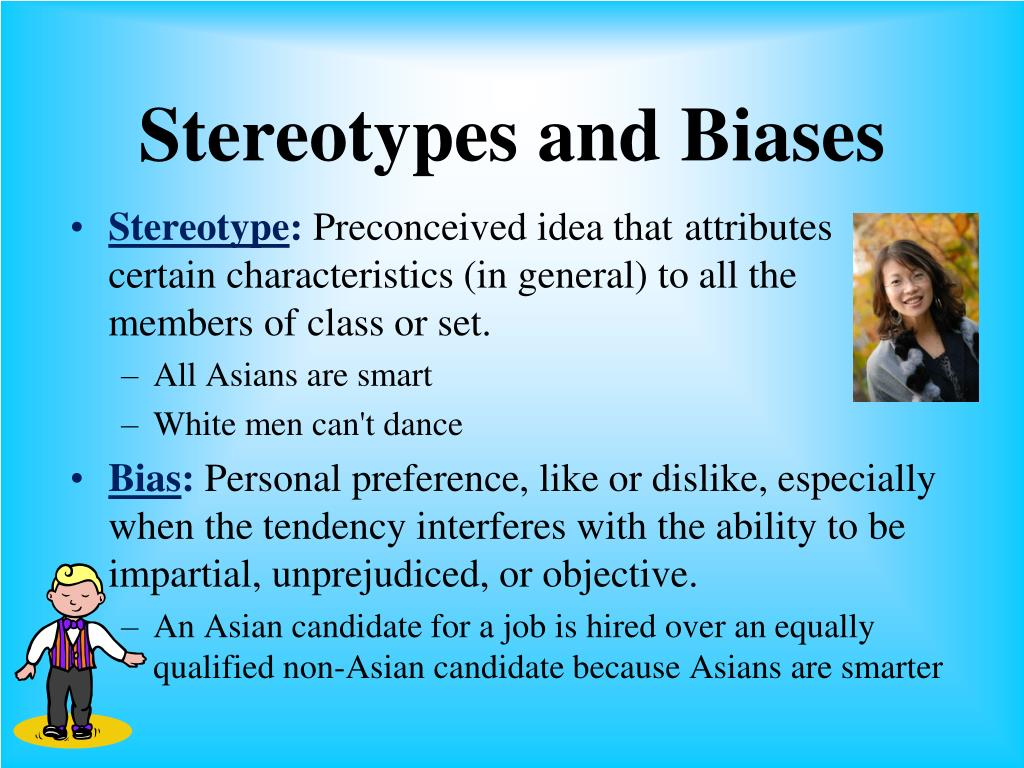 Stereotypes and Biases