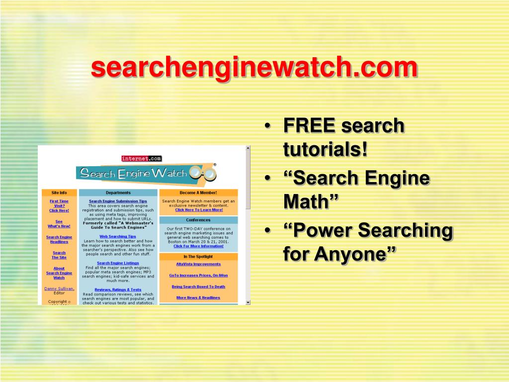 searchenginewatch.com