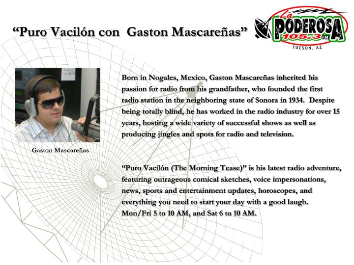 Puro vacil n con gaston mascare as