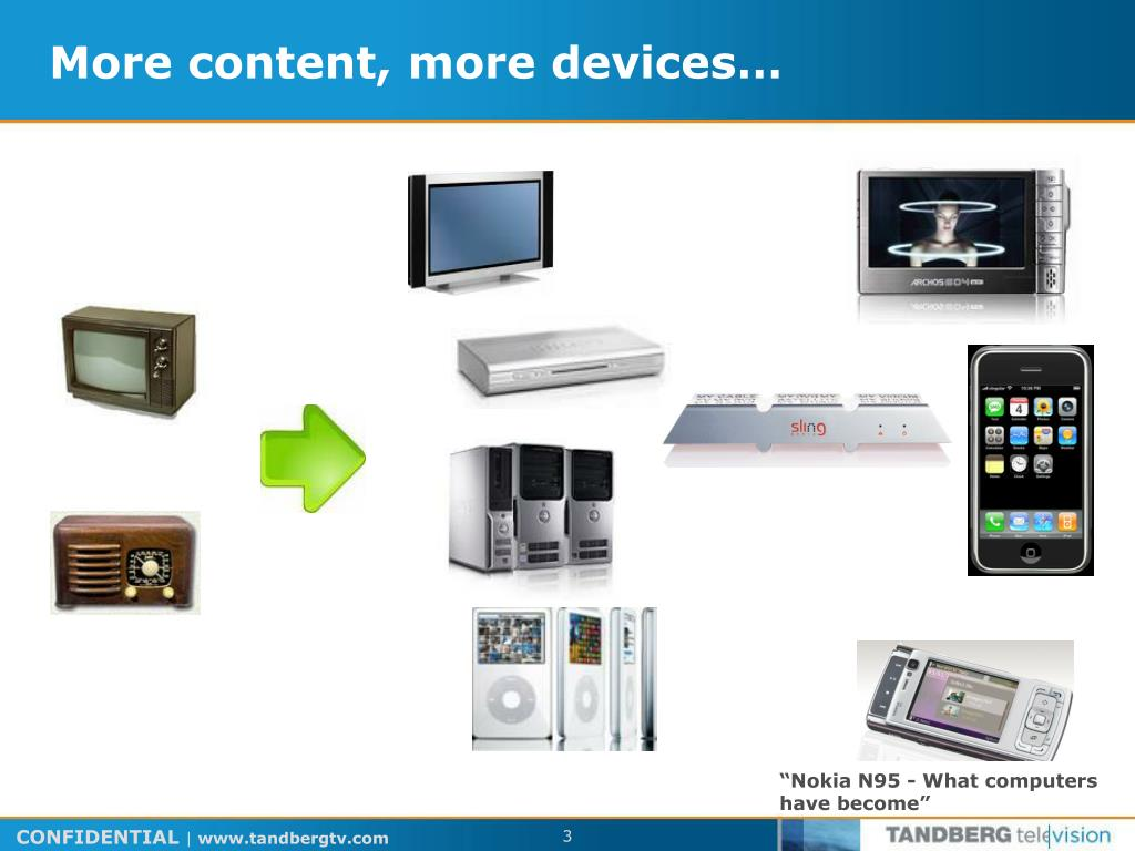 More content, more devices…