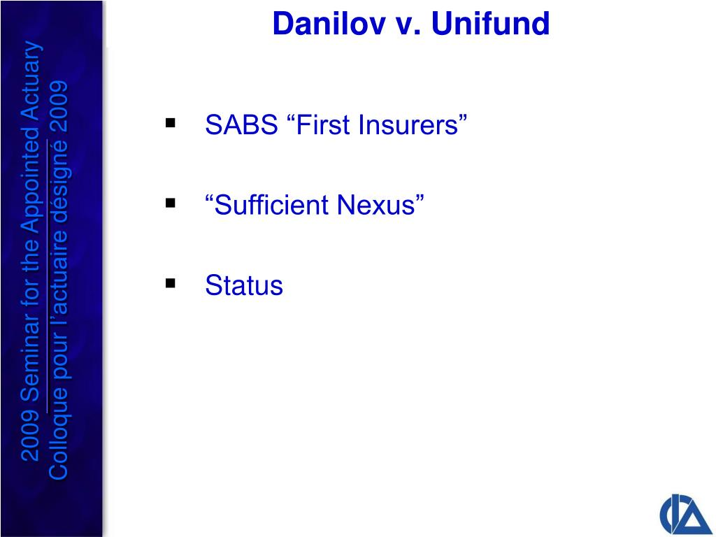 Danilov v. Unifund