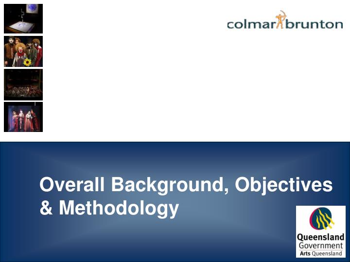 Overall background objectives methodology