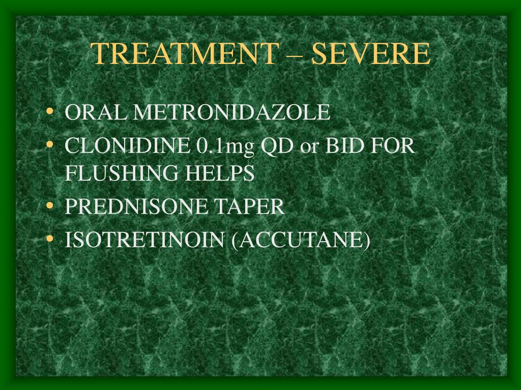 TREATMENT – SEVERE