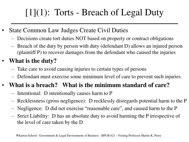 breach duty of care in nursing
