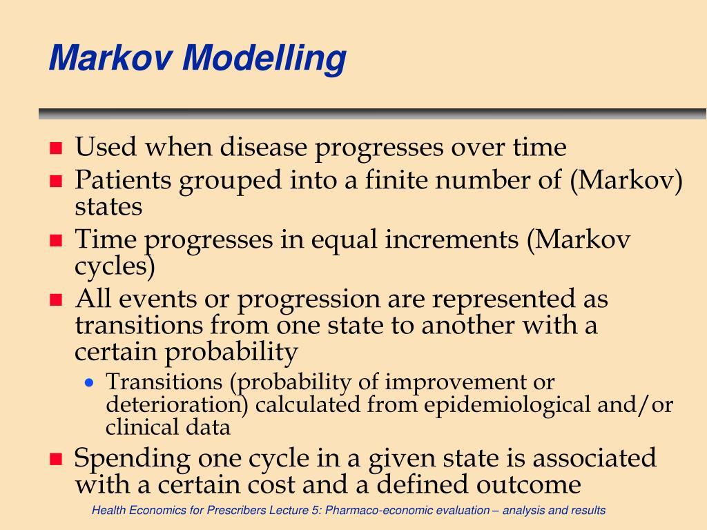 Markov Modelling