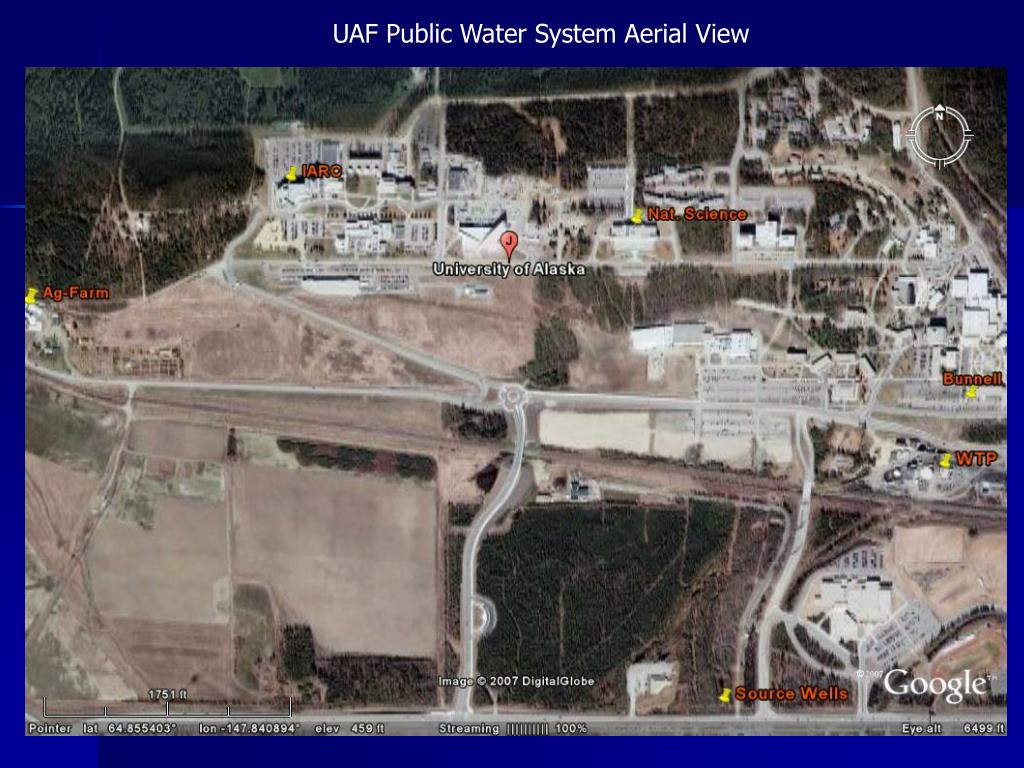 UAF Public Water System Aerial View