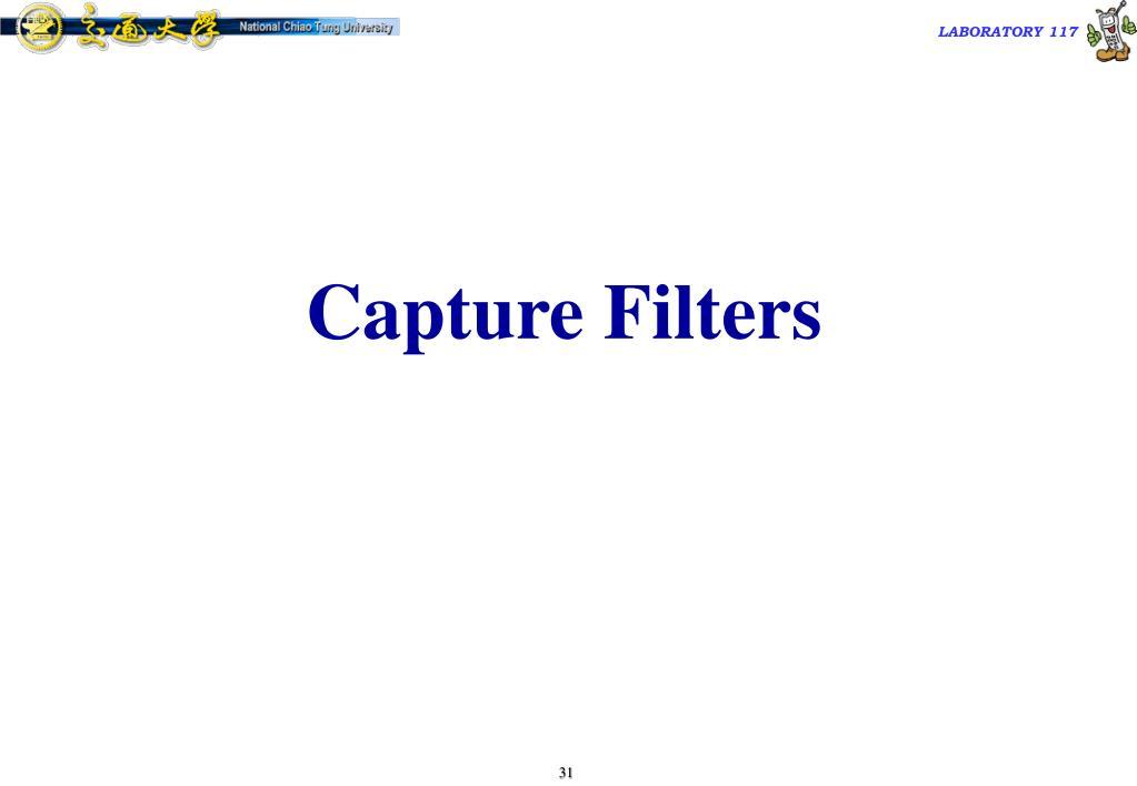 Capture Filters