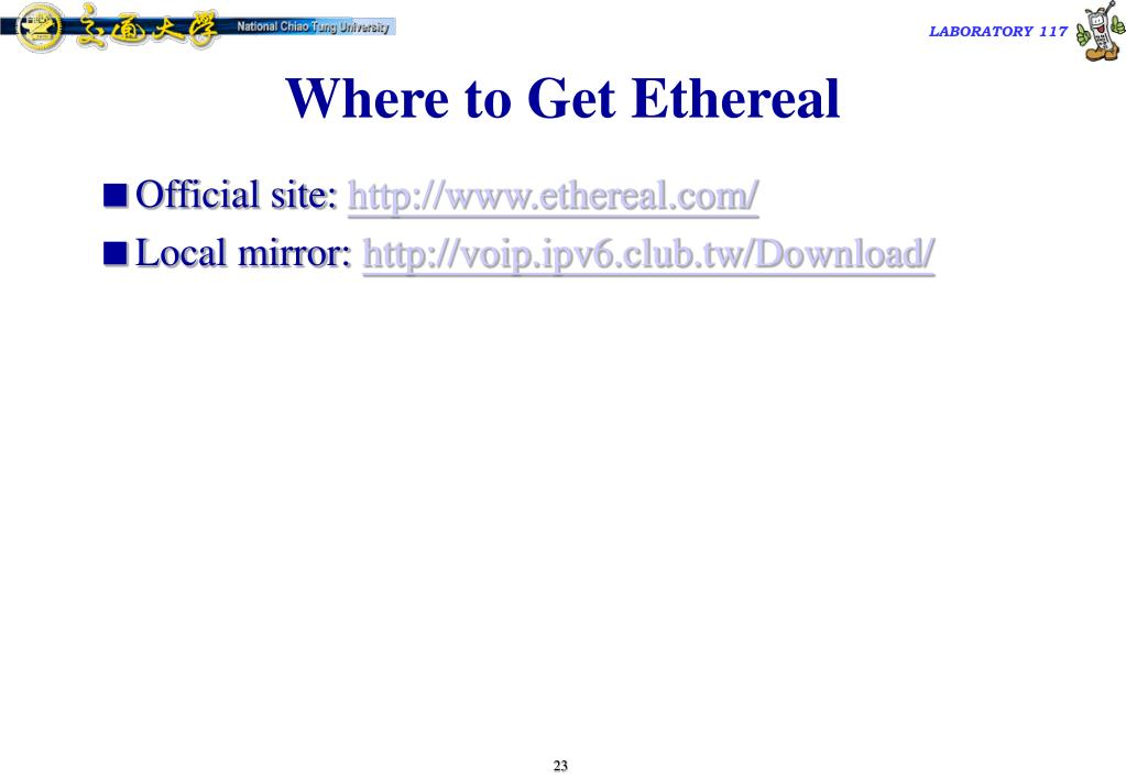 Where to Get Ethereal