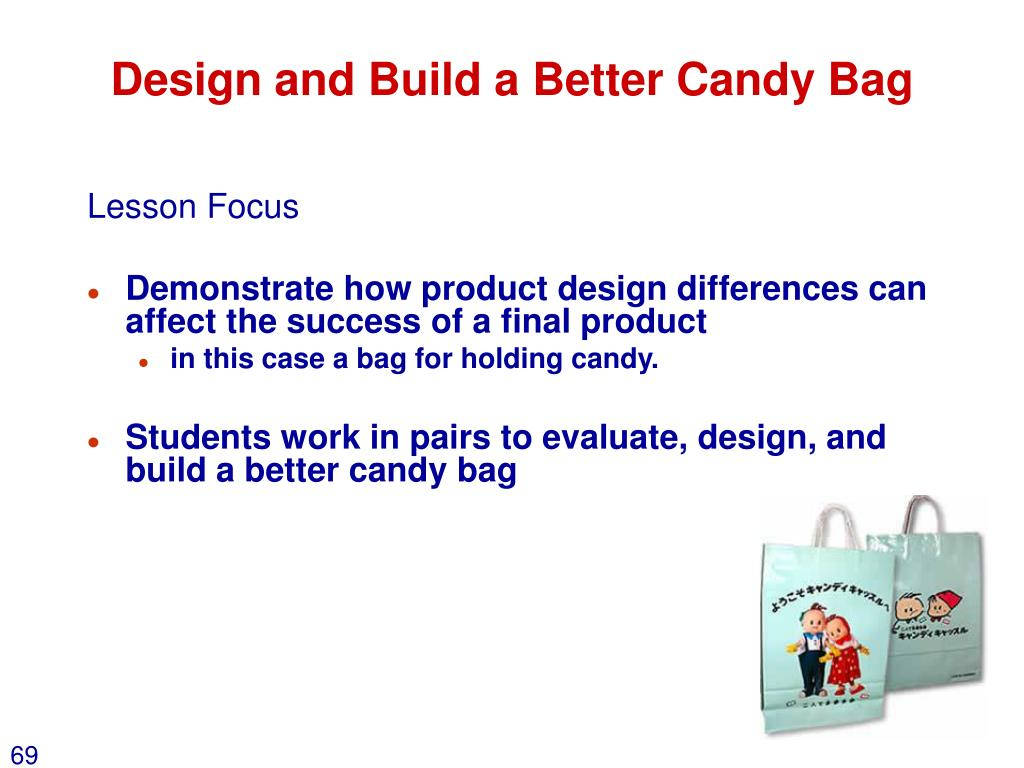 Design and Build a Better Candy Bag