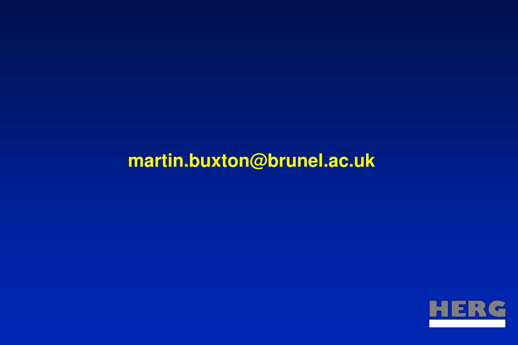 martin.buxton@brunel.ac.uk