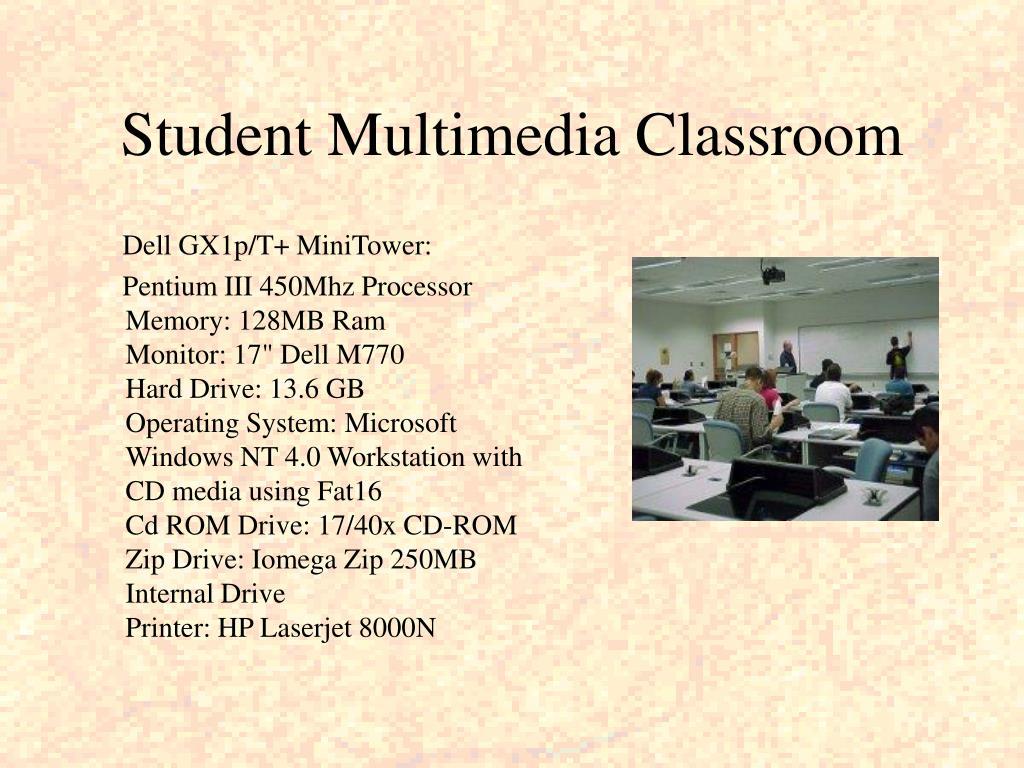 Student Multimedia Classroom
