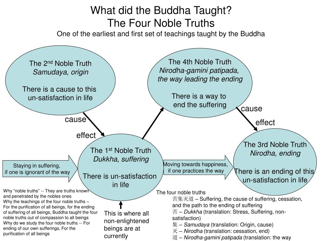 What did the Buddha Taught?