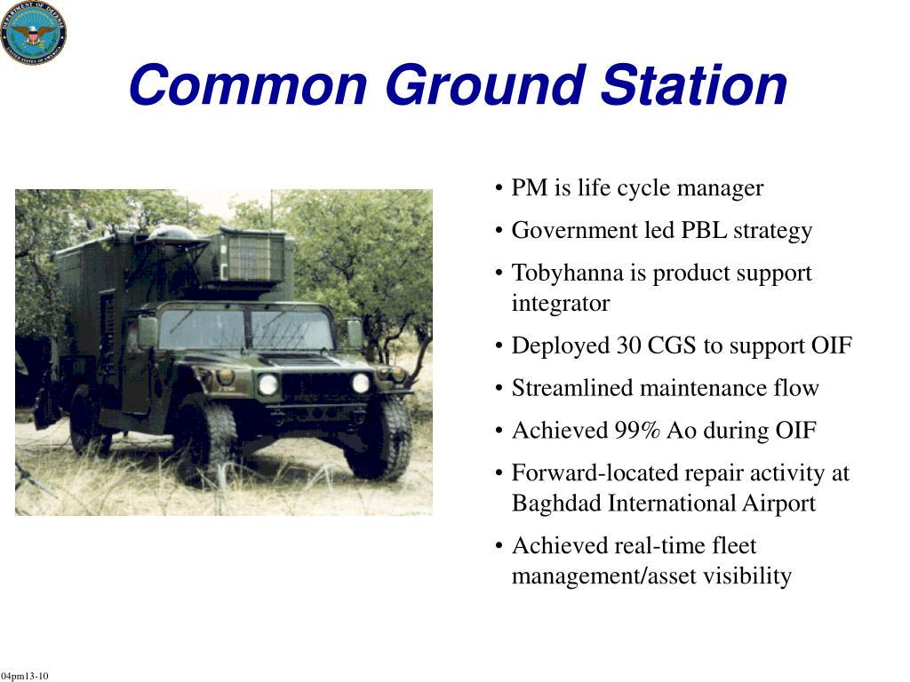 Common Ground Station