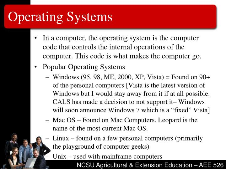 Operating systems3