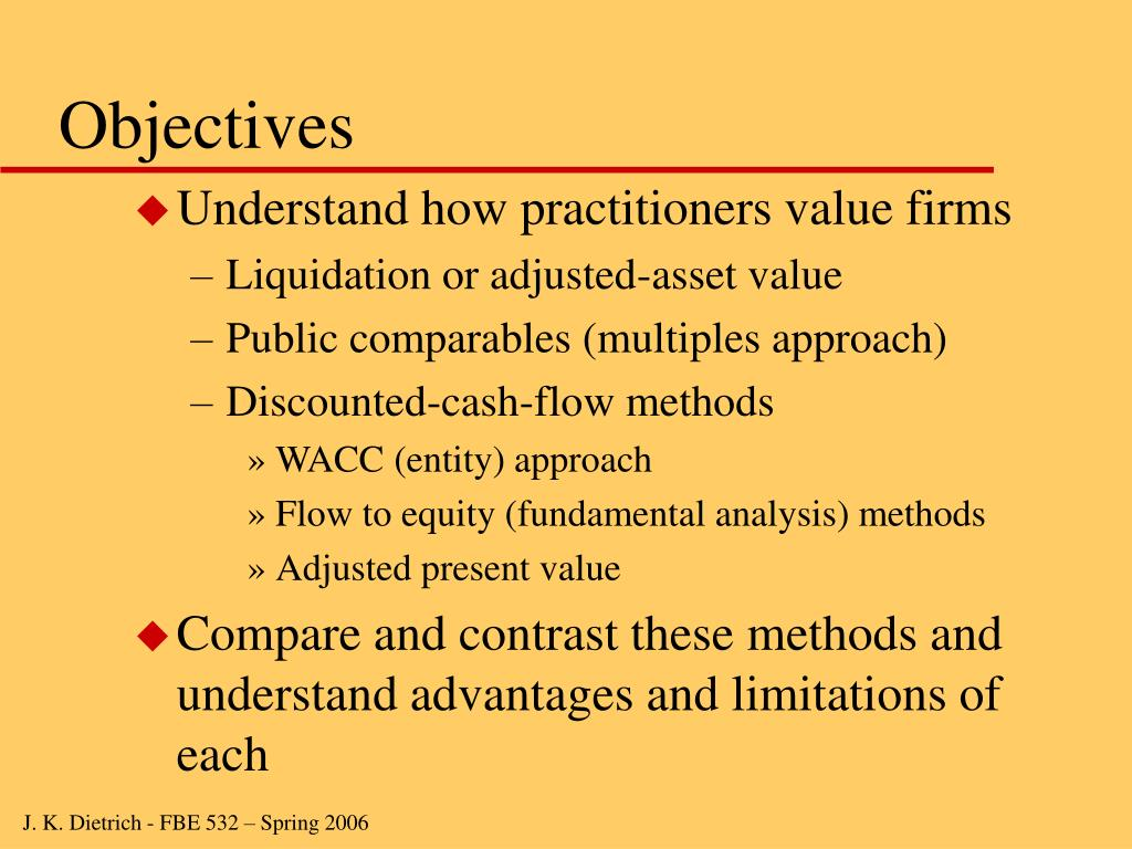 Objectives