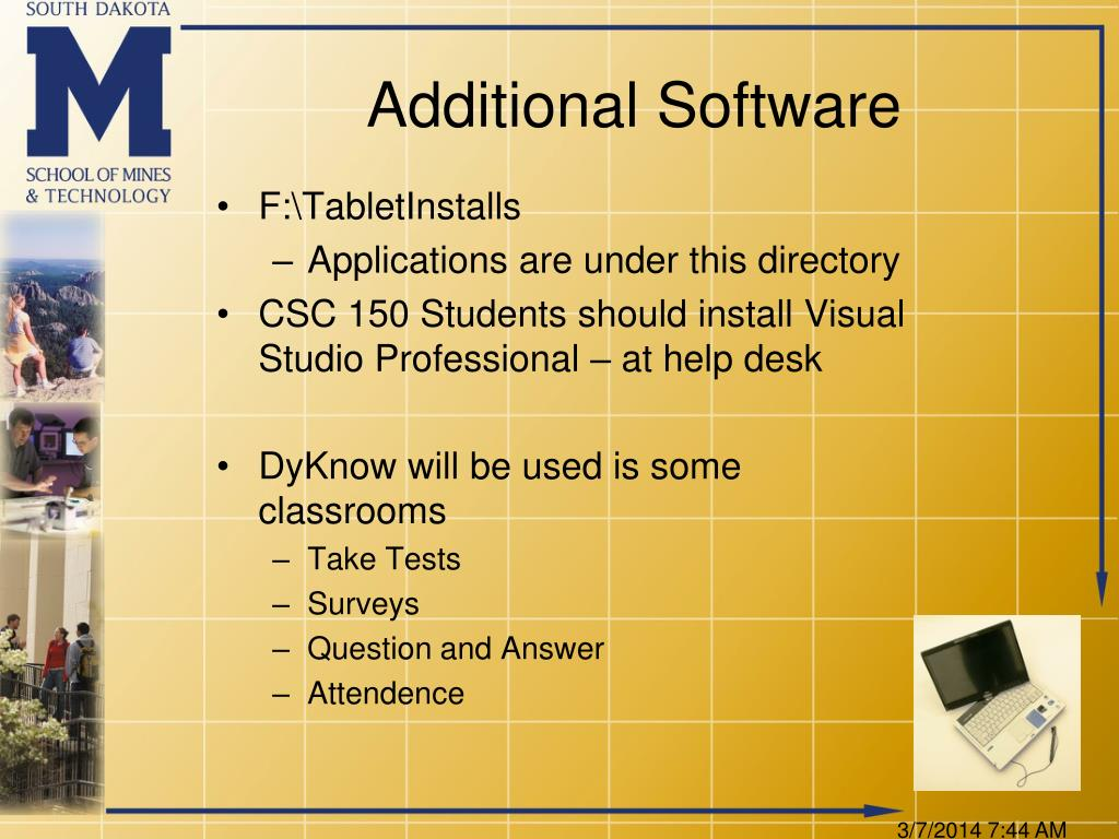 Additional Software