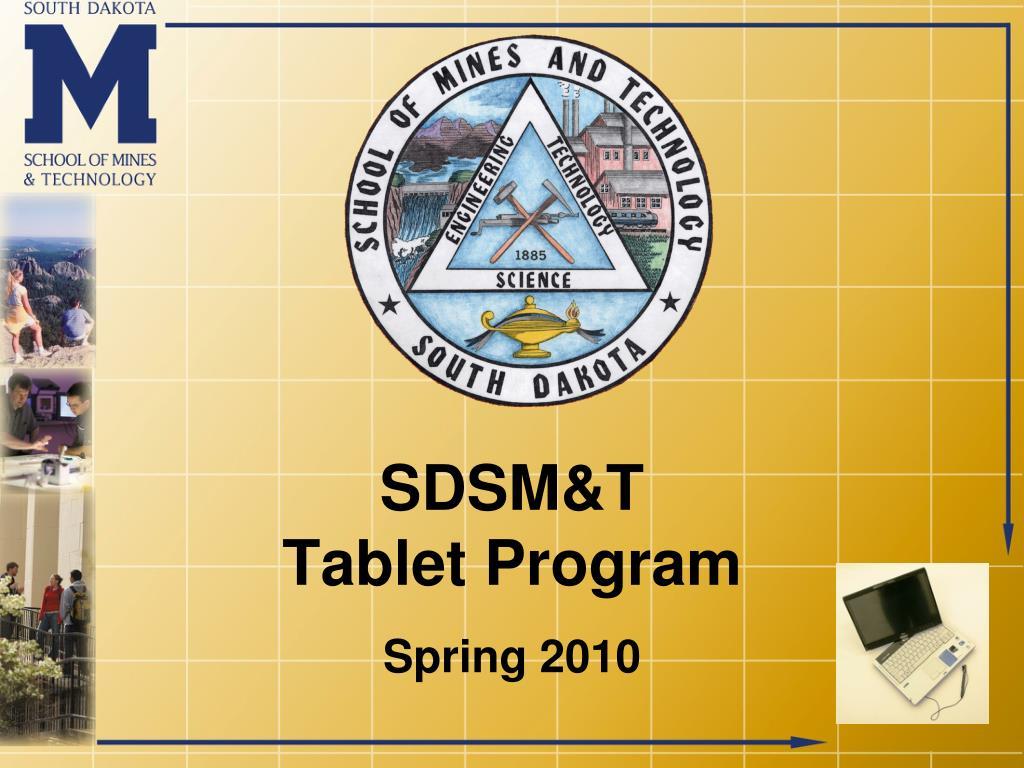 sdsm t tablet program