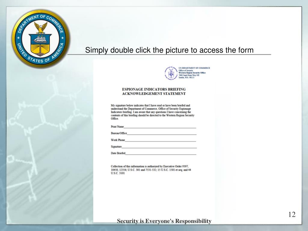 Simply double click the picture to access the form