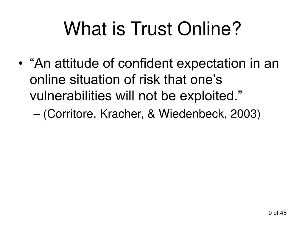 What is Trust Online?
