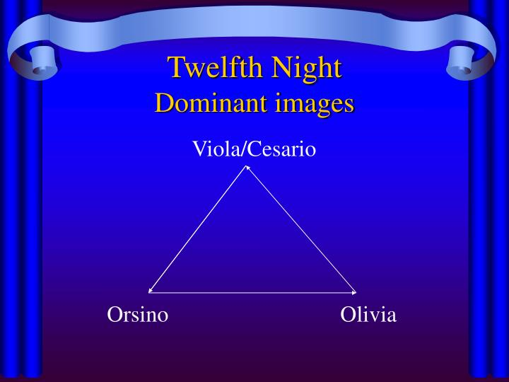 Twelfth night dominant images