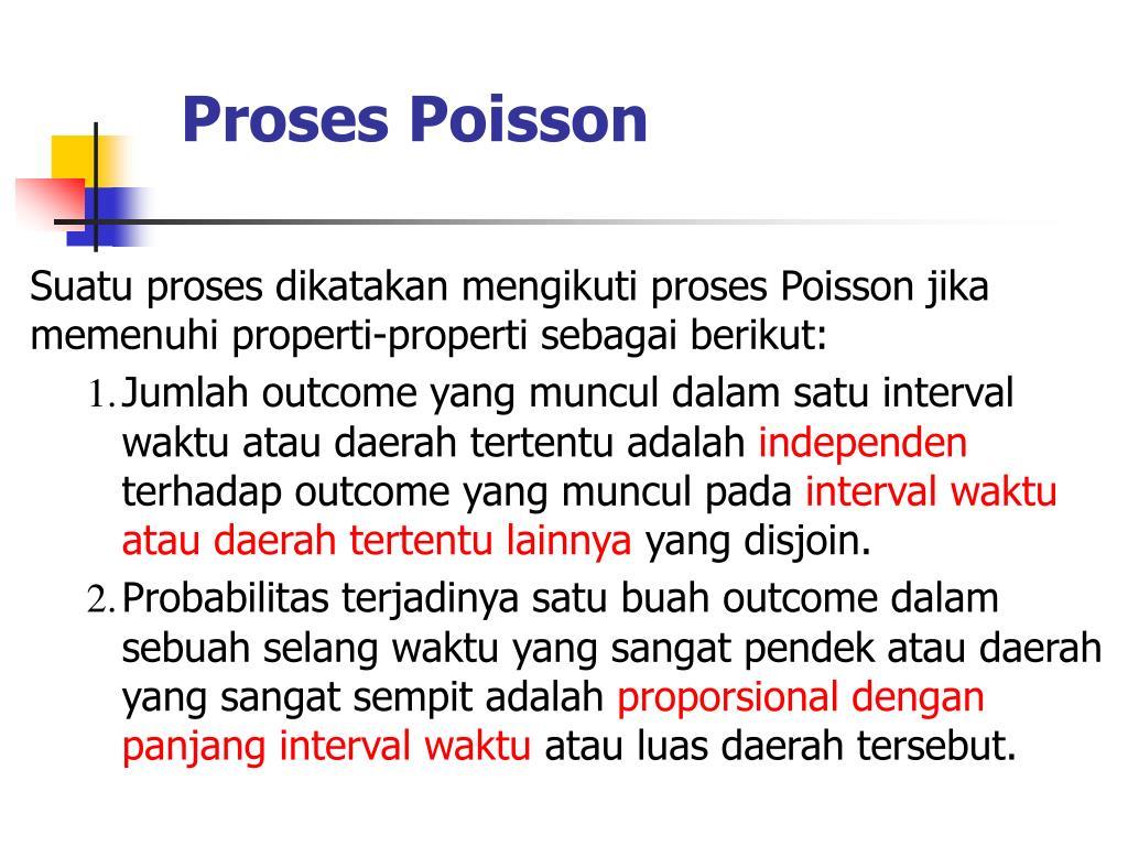 Proses Poisson