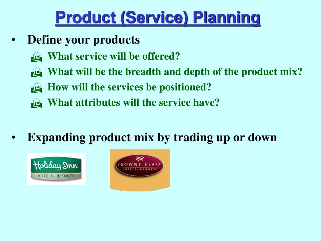 Product (Service) Planning