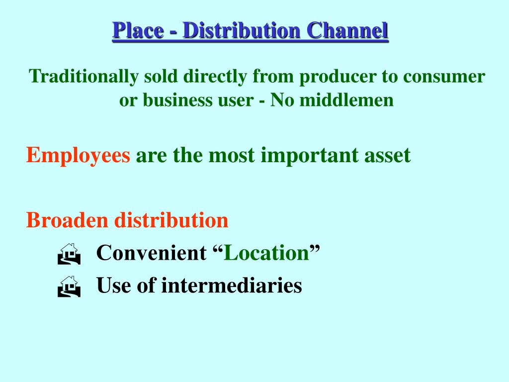Place - Distribution Channel
