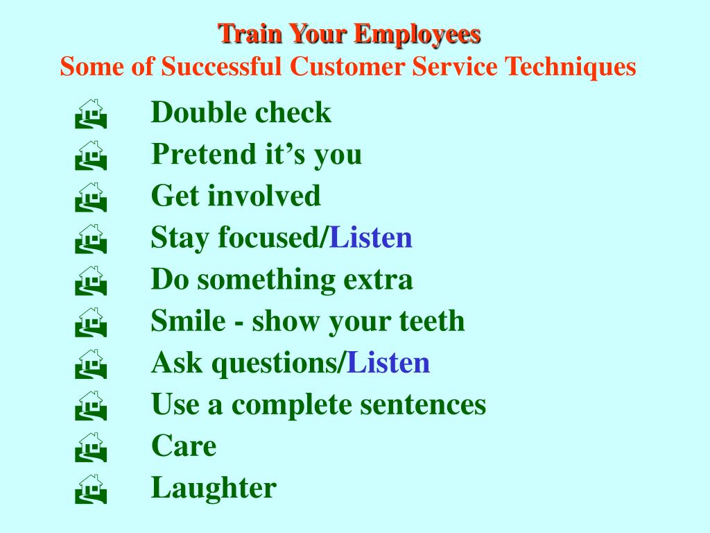 Train Your Employees