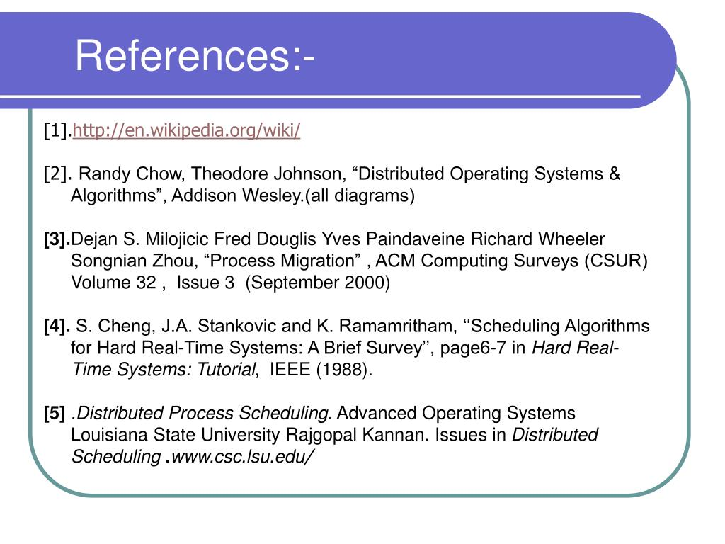 References:-