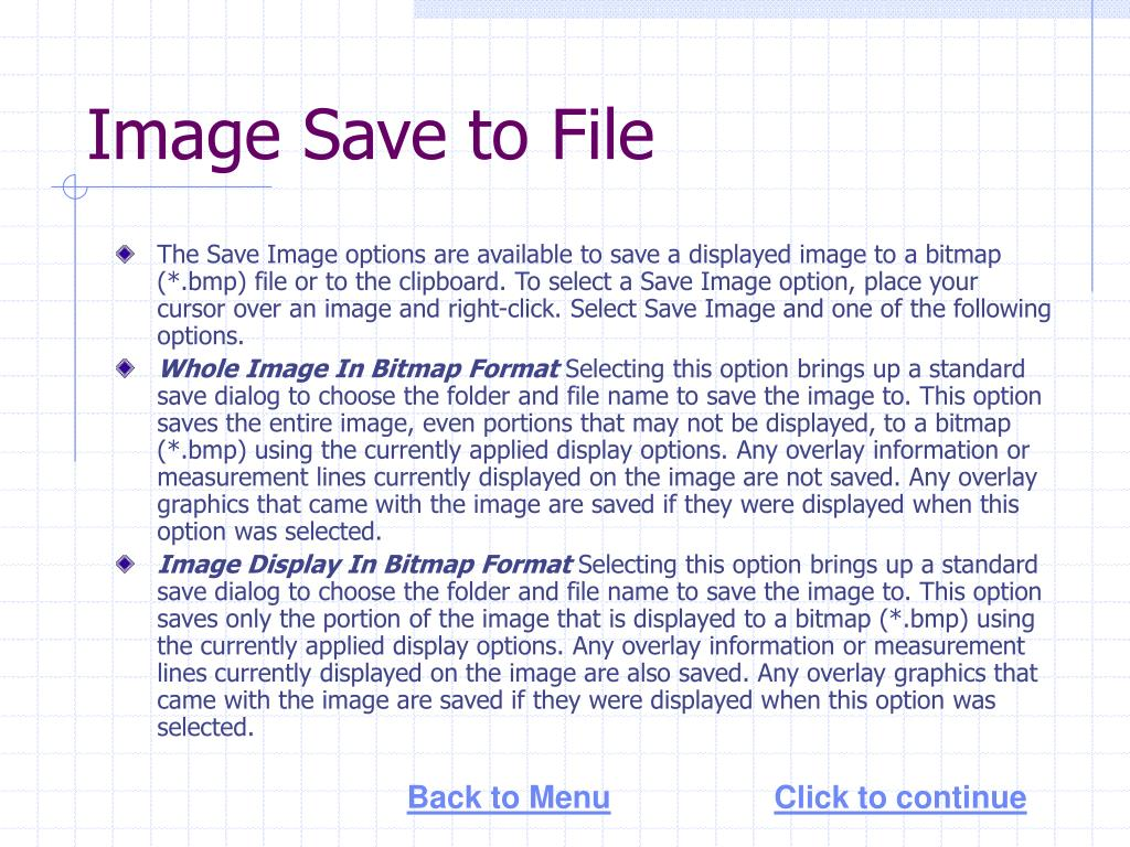 Image Save to File