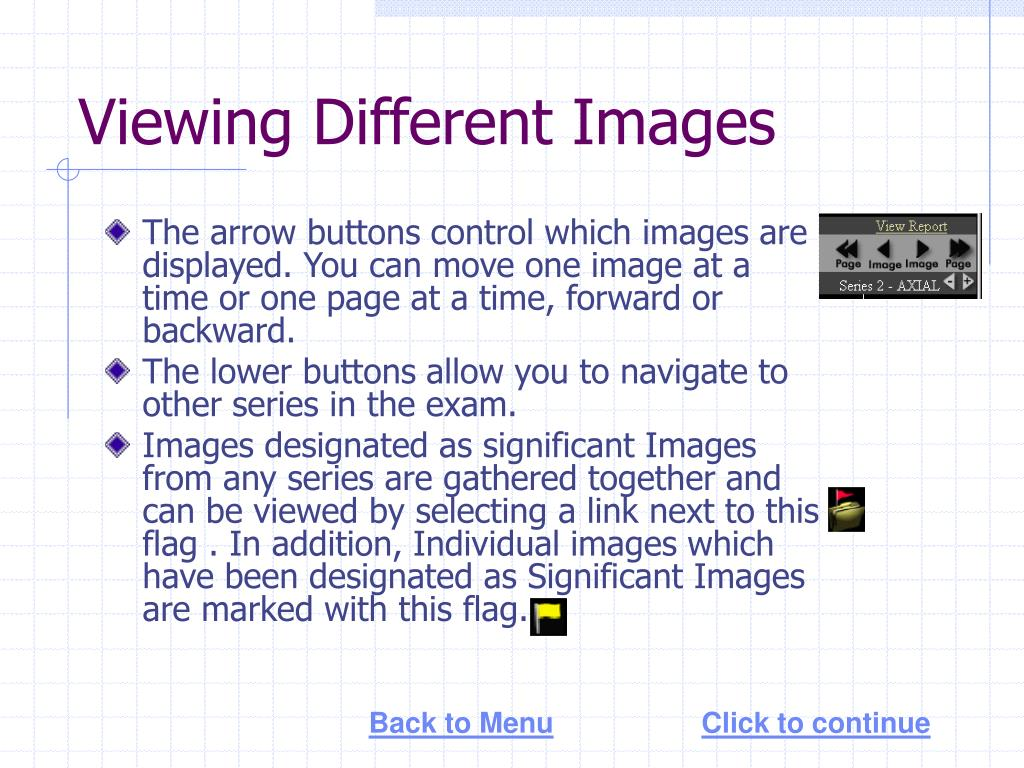 Viewing Different Images