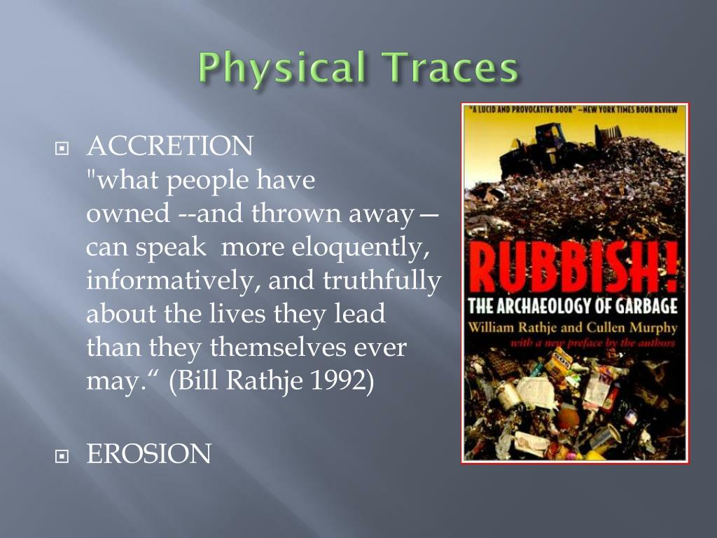 Physical Traces