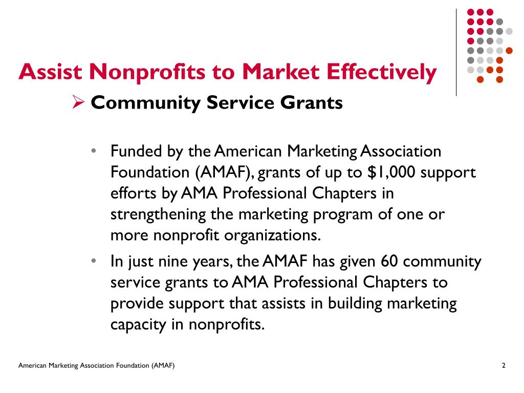 Assist Nonprofits to Market Effectively