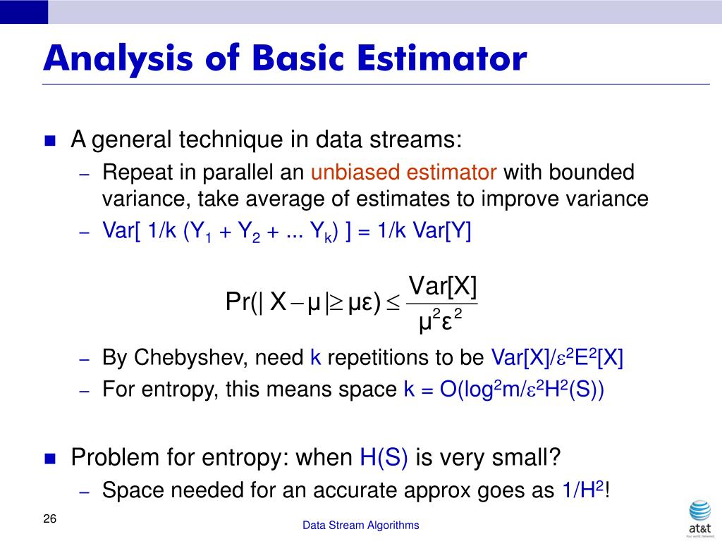 Analysis of Basic Estimator