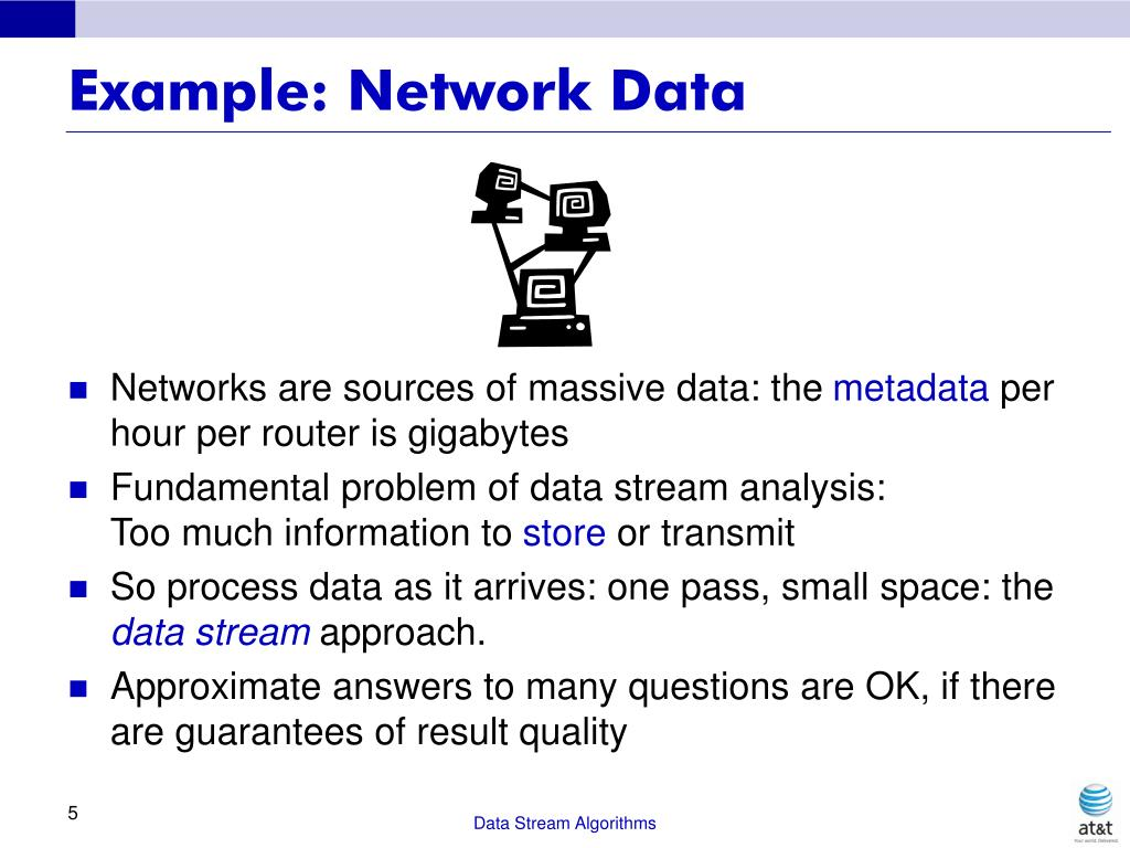 Example: Network Data