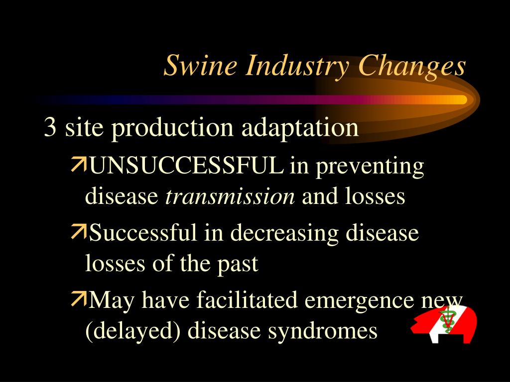 Swine Industry Changes