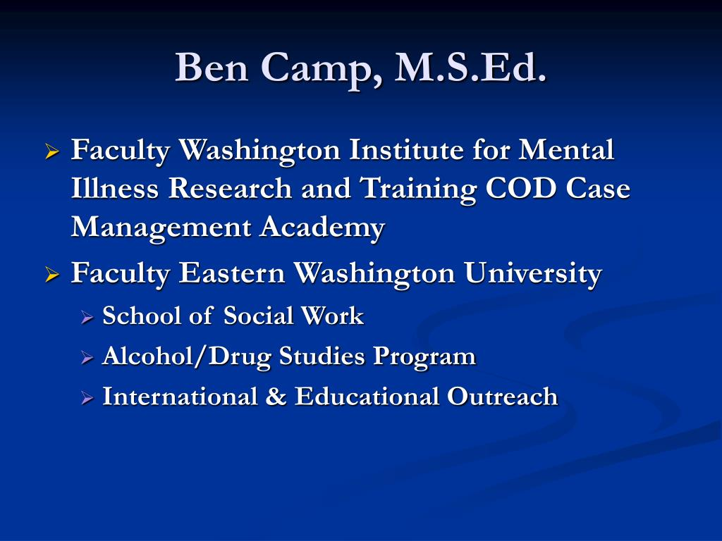 Ben Camp, M.S.Ed.