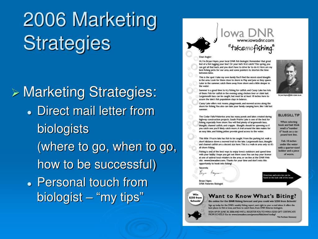 2006 Marketing