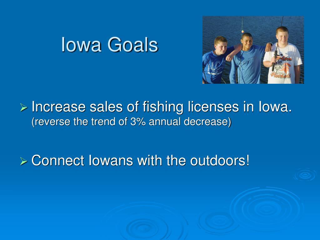 Iowa Goals