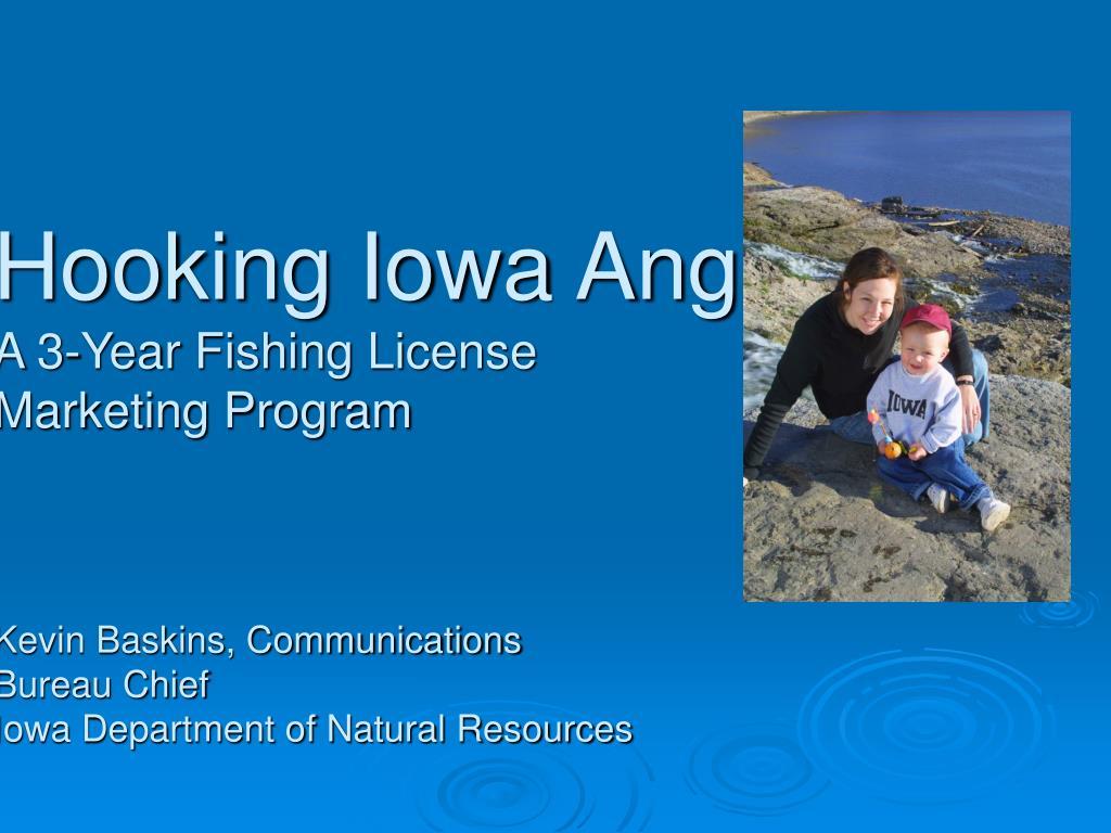 Hooking Iowa Anglers: