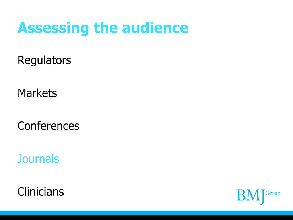 Assessing the audience