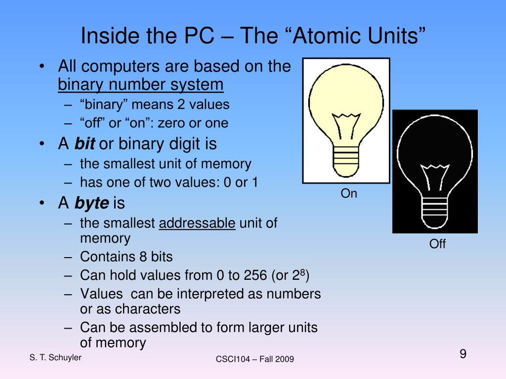 """Inside the PC – The """"Atomic Units"""""""