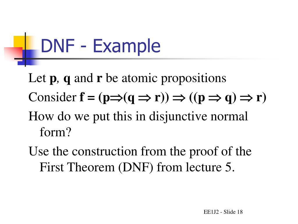 DNF - Example